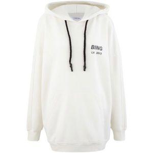 Anine bing lottie oversized hoodie